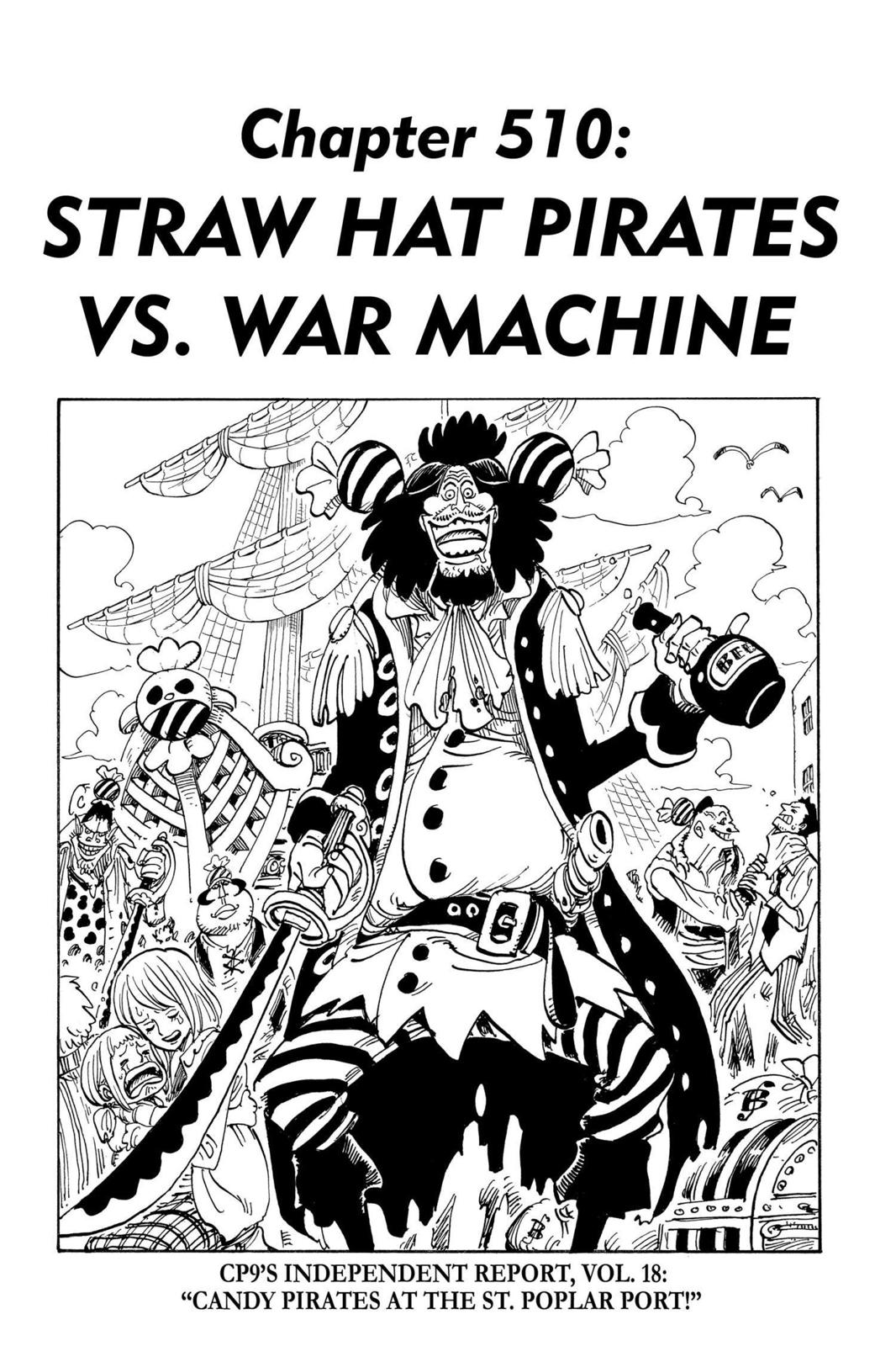 One Piece, Chapter 510 image 001