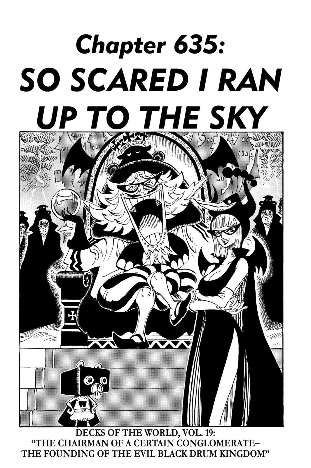 One Piece, Chapter 635 image 001