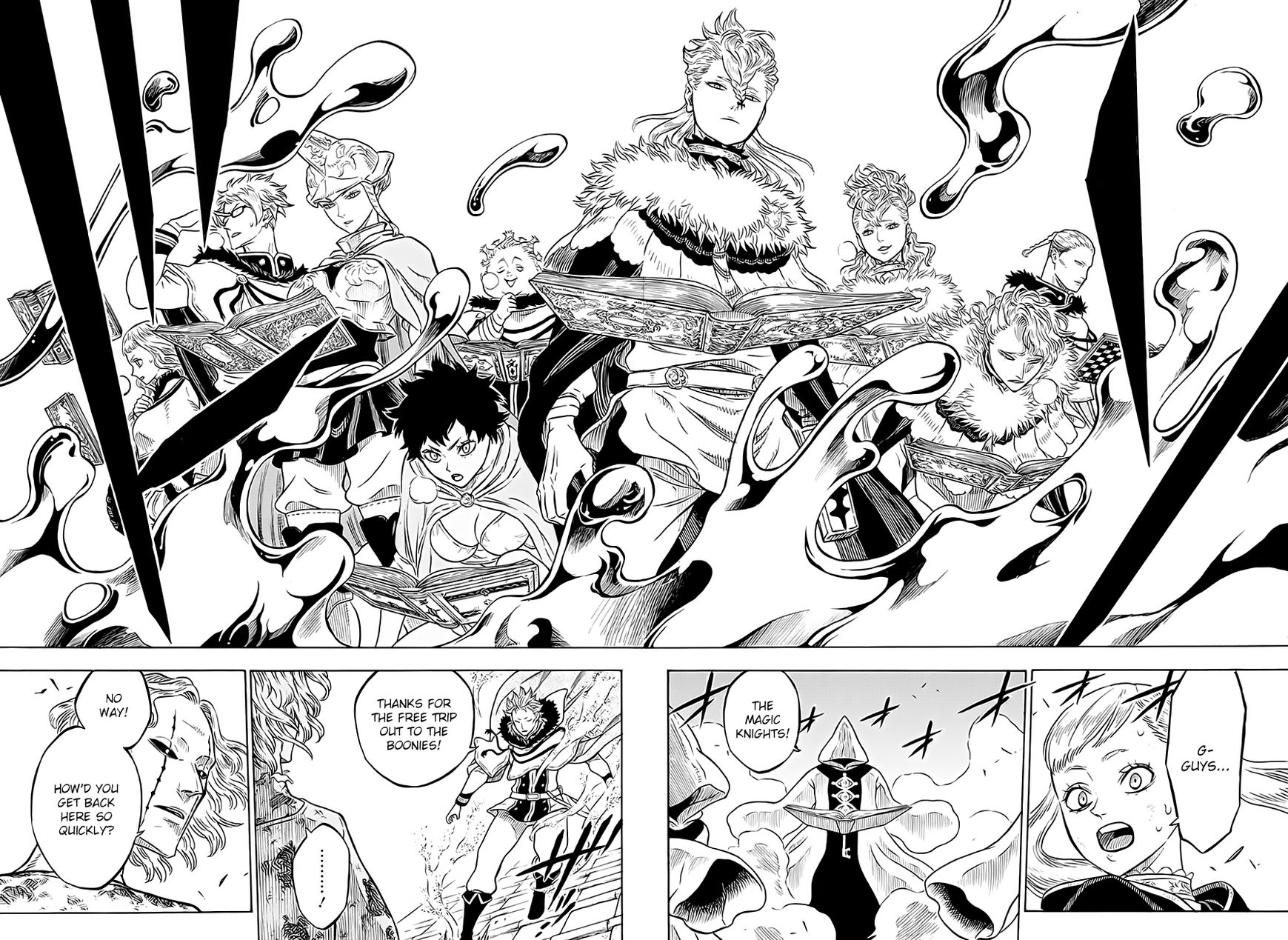 Black Clover, Chapter 34 The Wounded Beast image 013