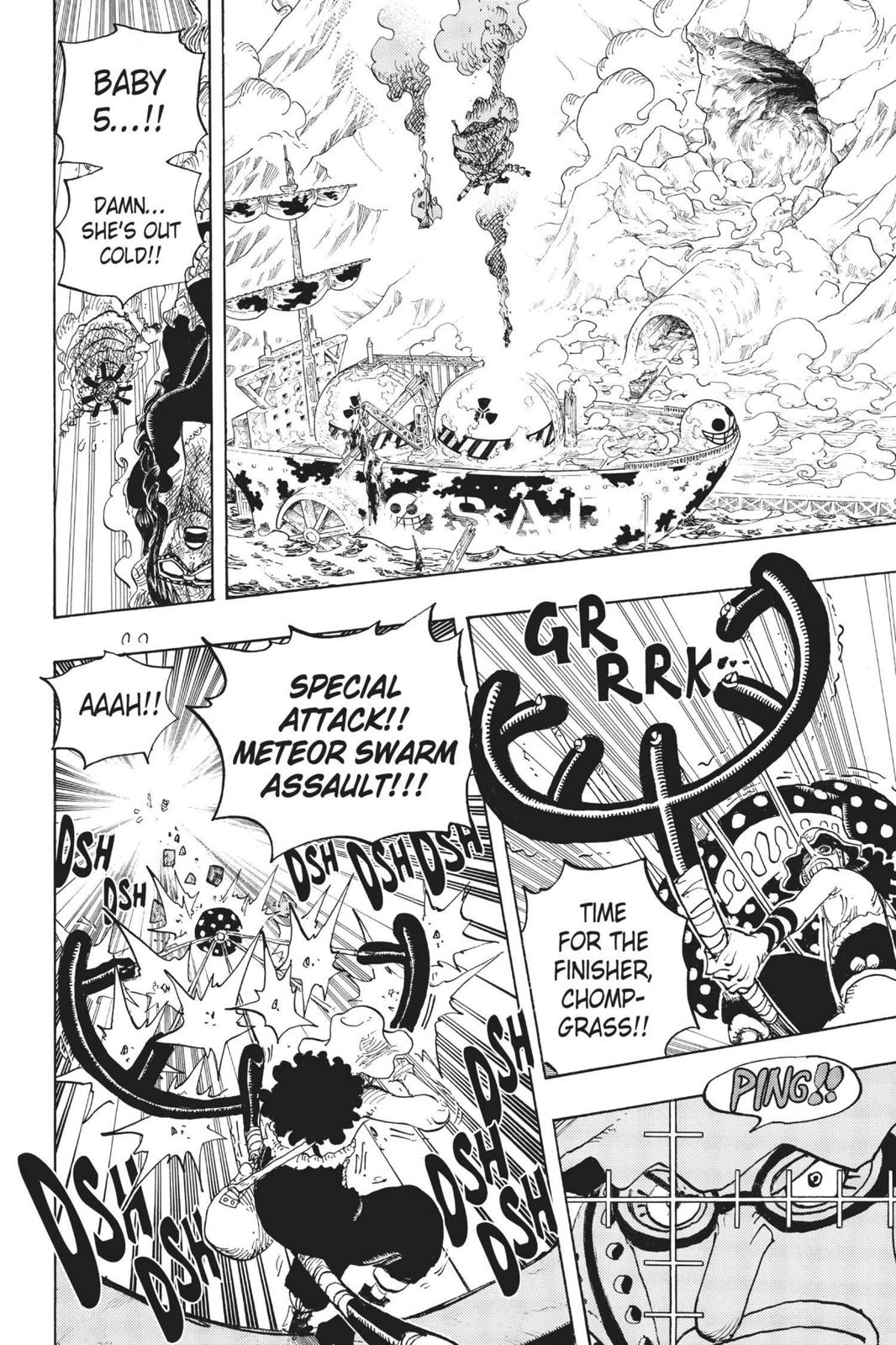 One Piece, Chapter 695 image 014