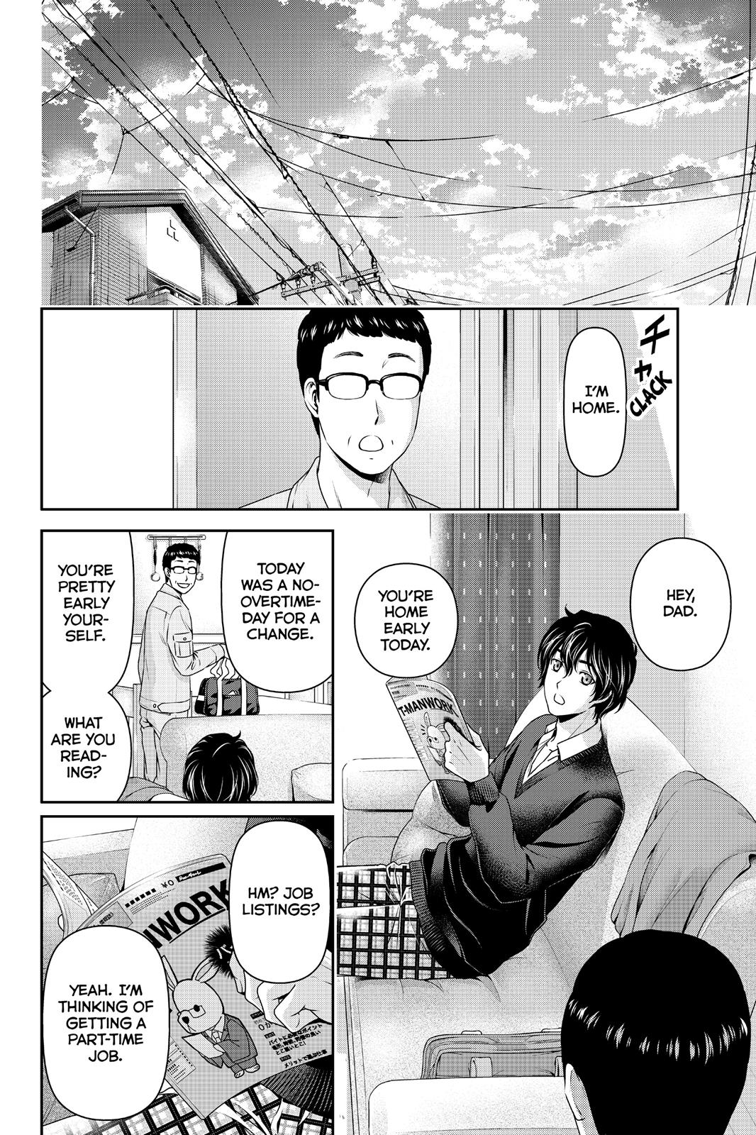 Domestic Na Kanojo, Chapter 60 image 004