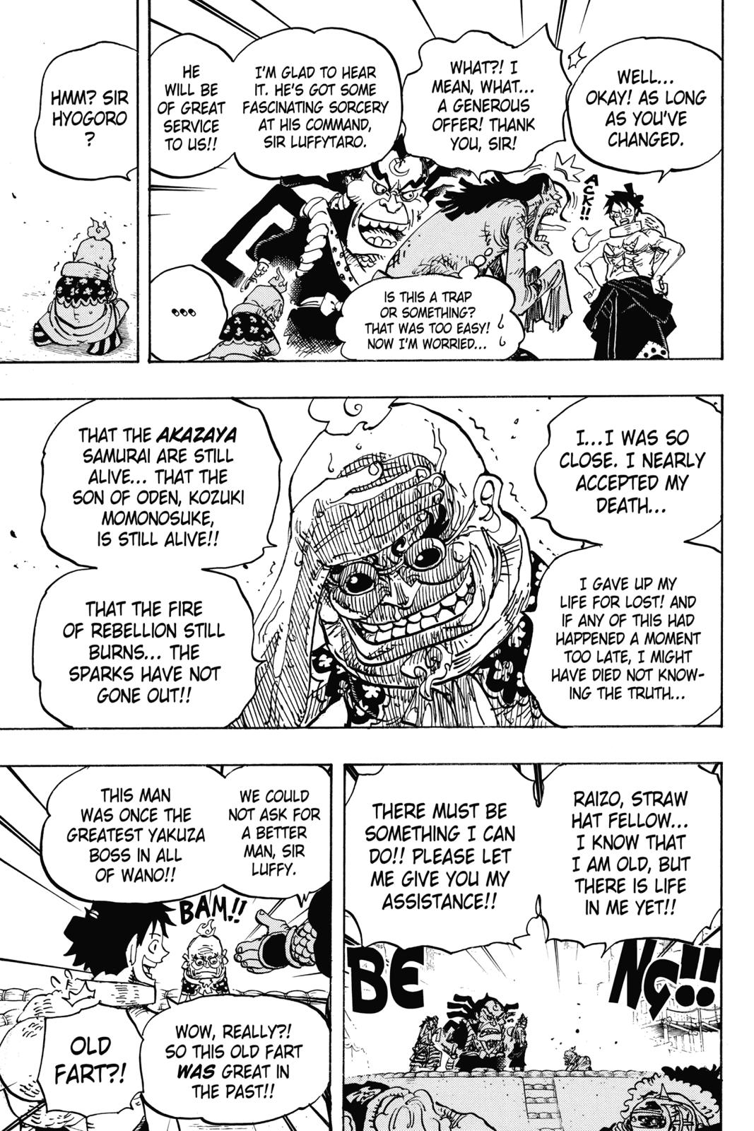 One Piece, Chapter 940 image 015