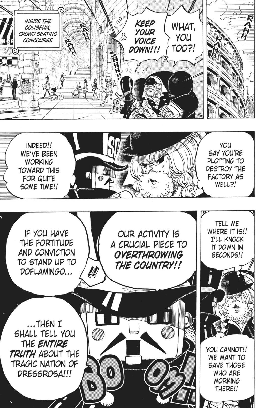 One Piece, Chapter 709 image 018