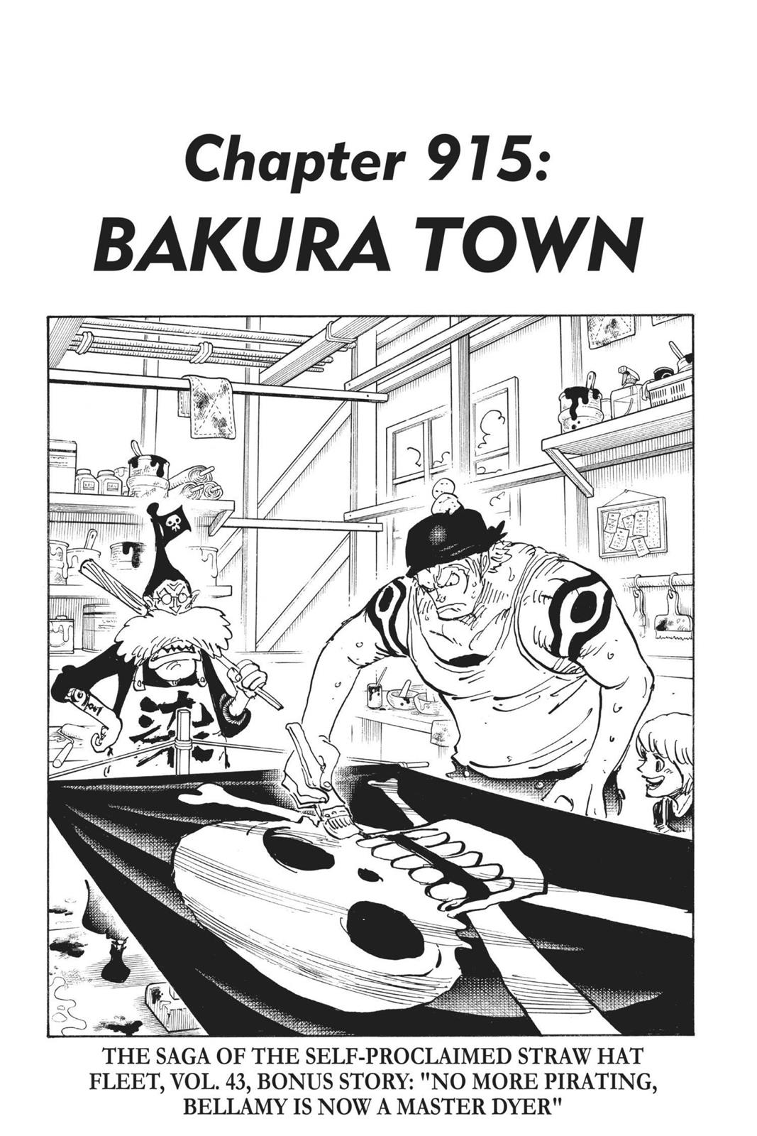 One Piece, Chapter 915 image 001
