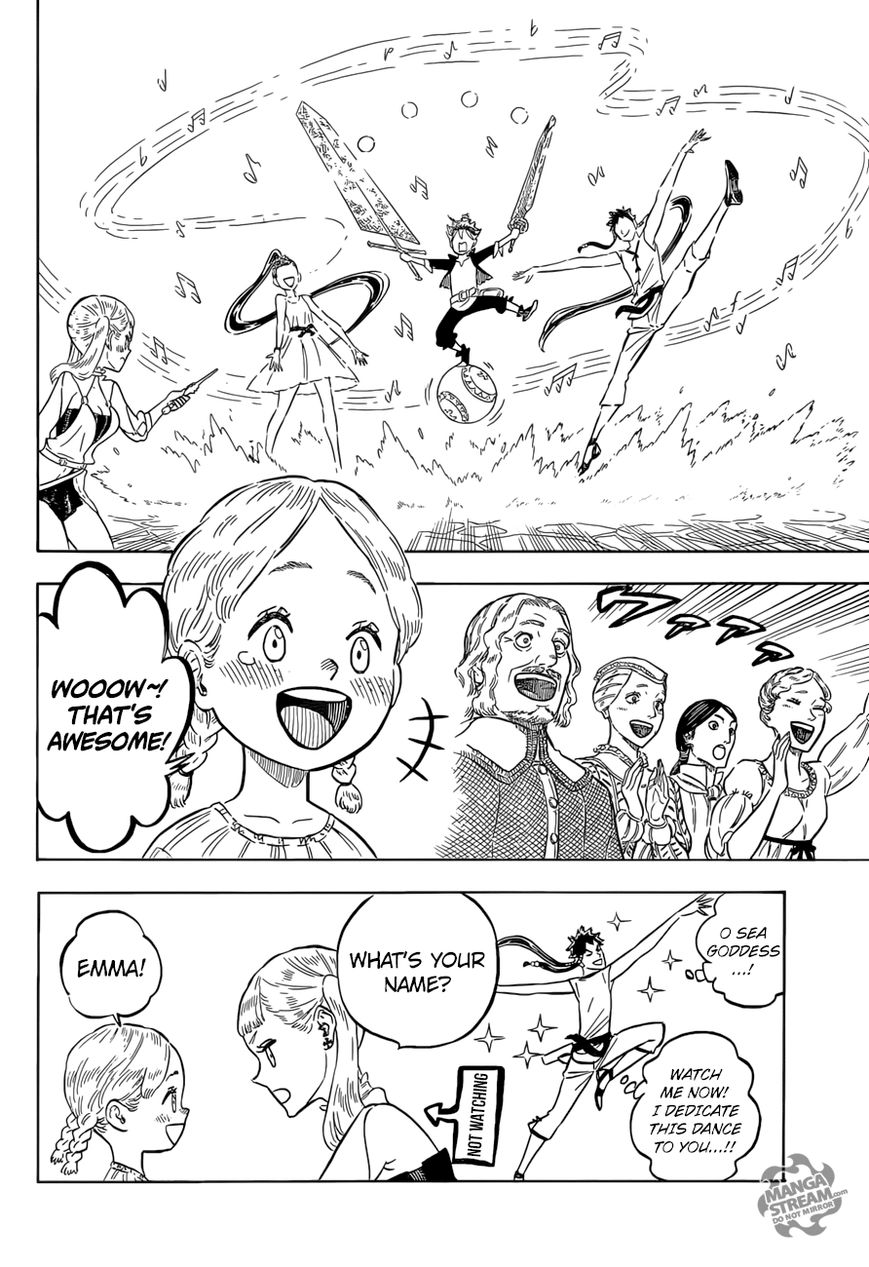 Black Clover, Chapter 103 A Fun Festival Double-Date image 009