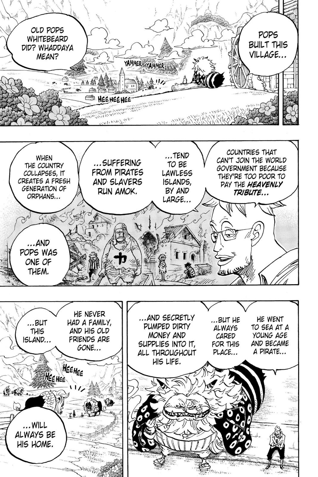 One Piece, Chapter 909 image 005