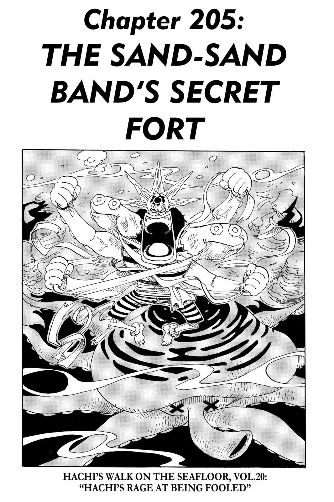 One Piece, Chapter 205 image 001