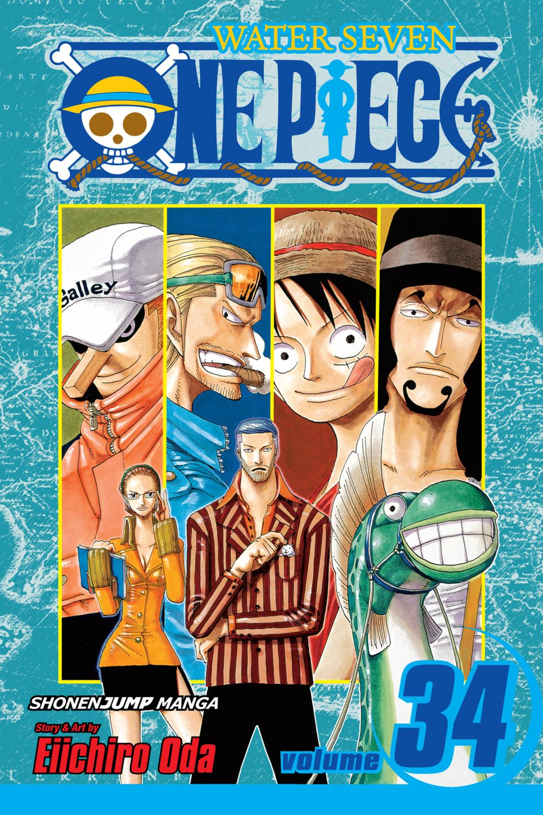 One Piece, Chapter 317 image 001