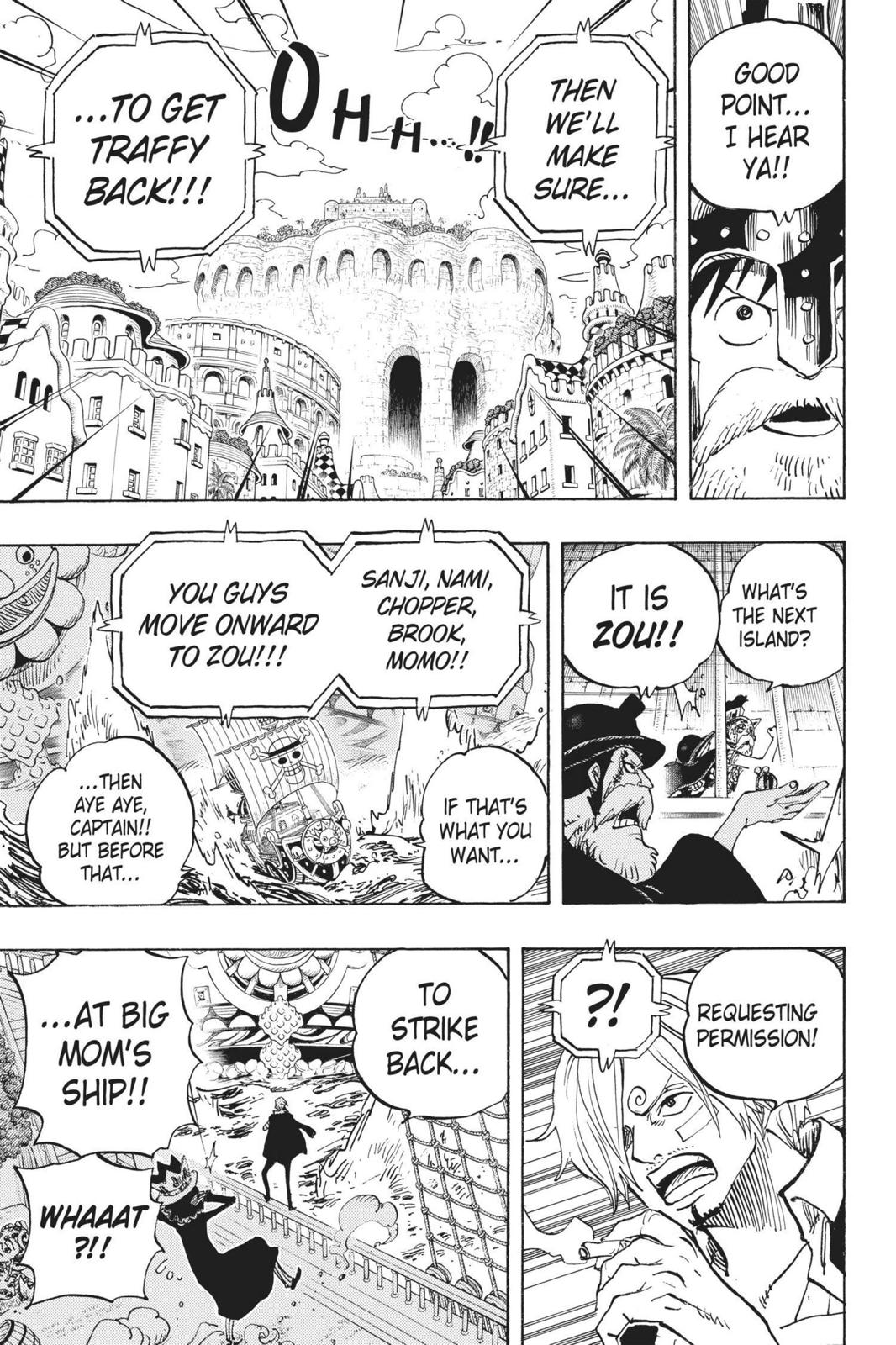 One Piece, Chapter 730 image 015