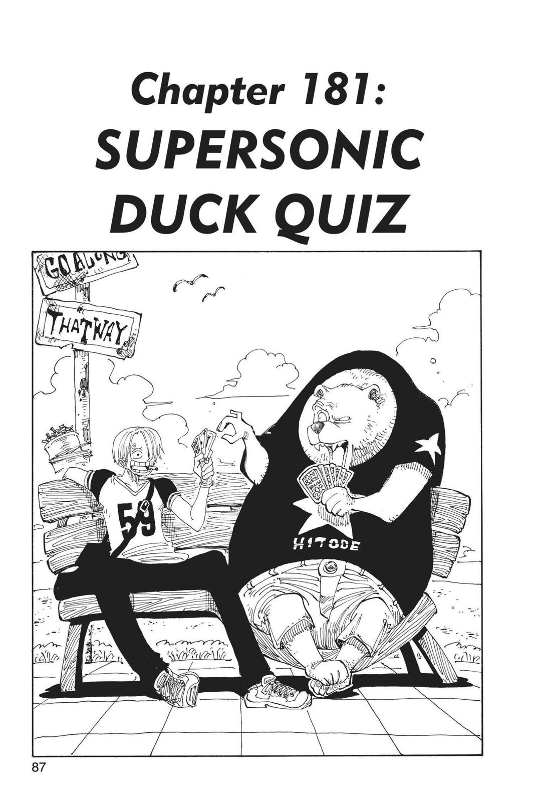 One Piece, Chapter 181 image 001