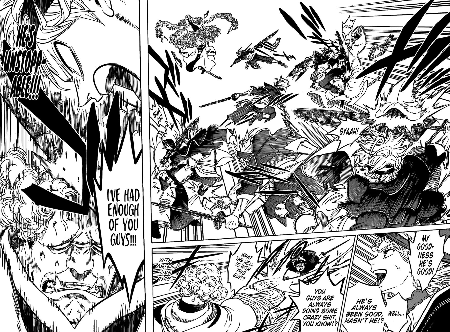 Black Clover, Chapter 85 The Charging Bull image 014