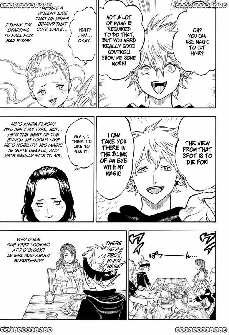 Black Clover, Chapter 38 The Person in My Heart image 009