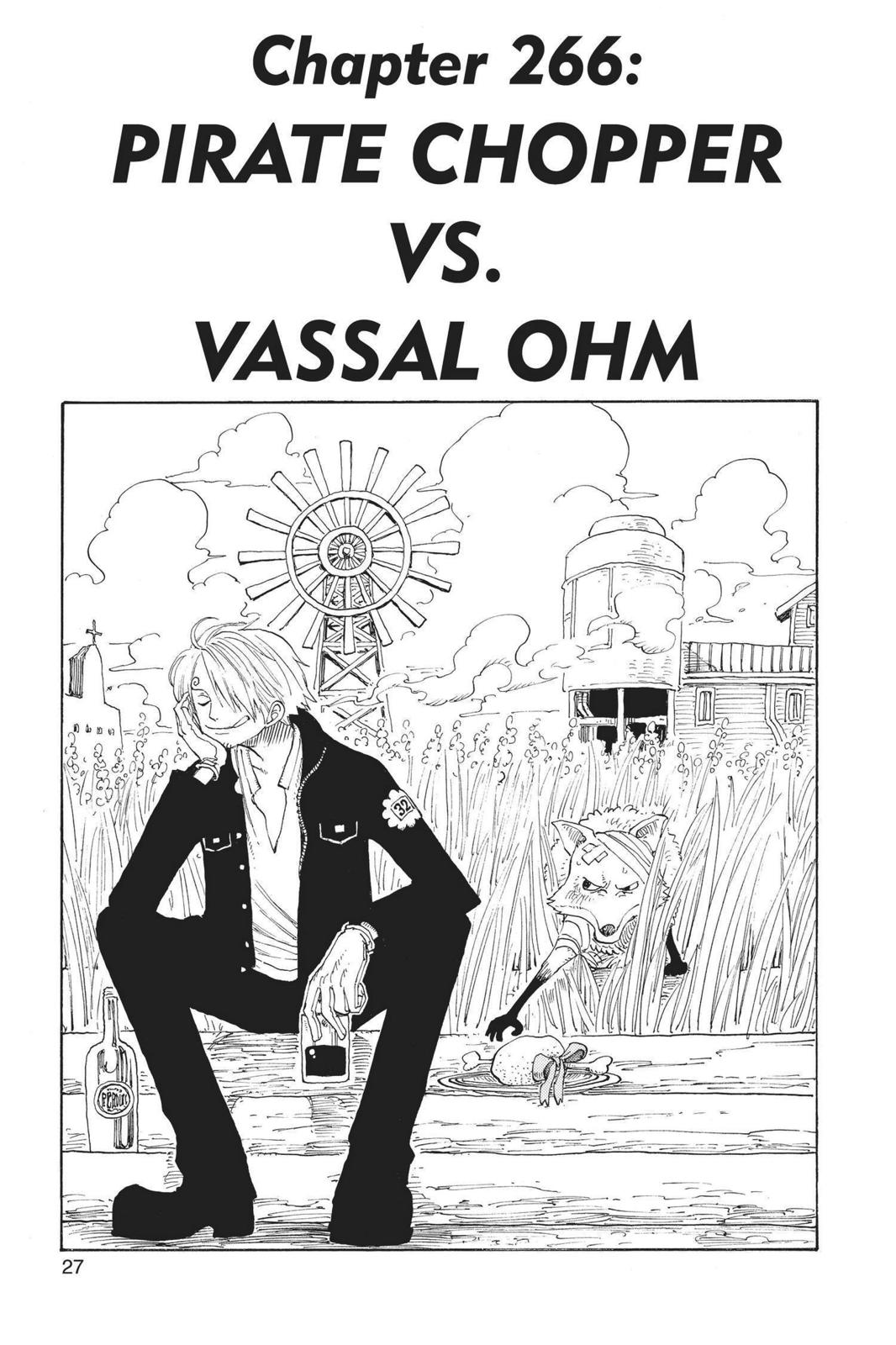 One Piece, Chapter 266 image 001
