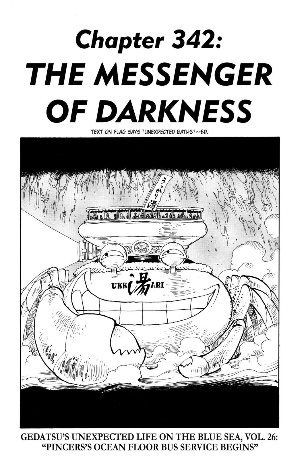 One Piece, Chapter 342 image 001