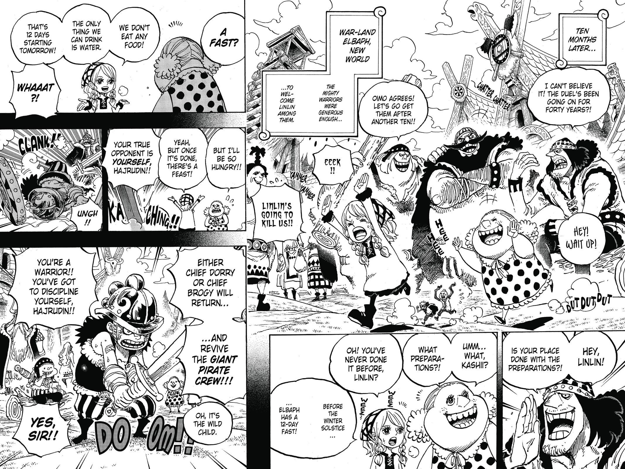 One Piece, Chapter 866 image 010