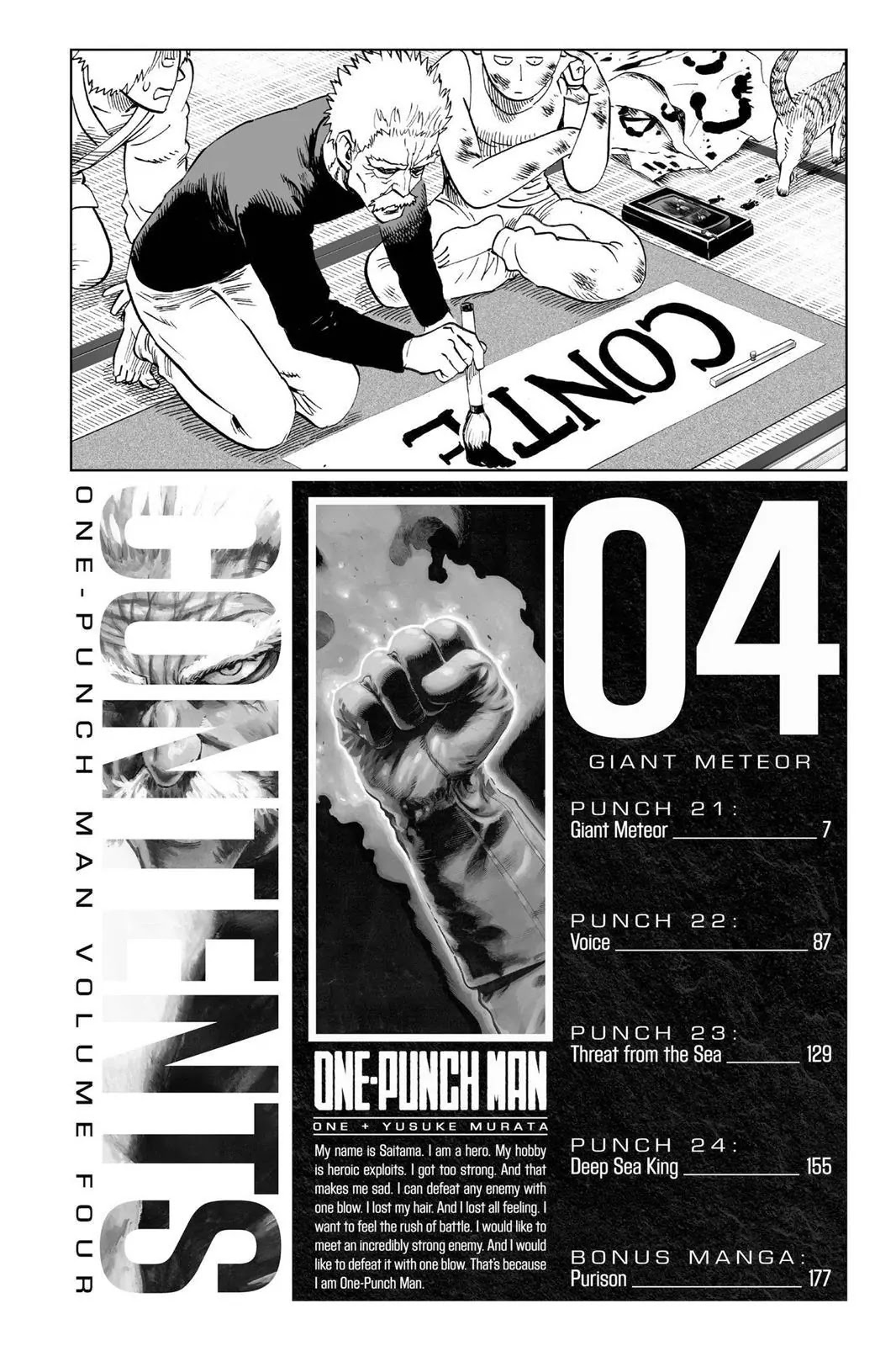One Punch Man, Chapter Onepunch-Man 21 image 007