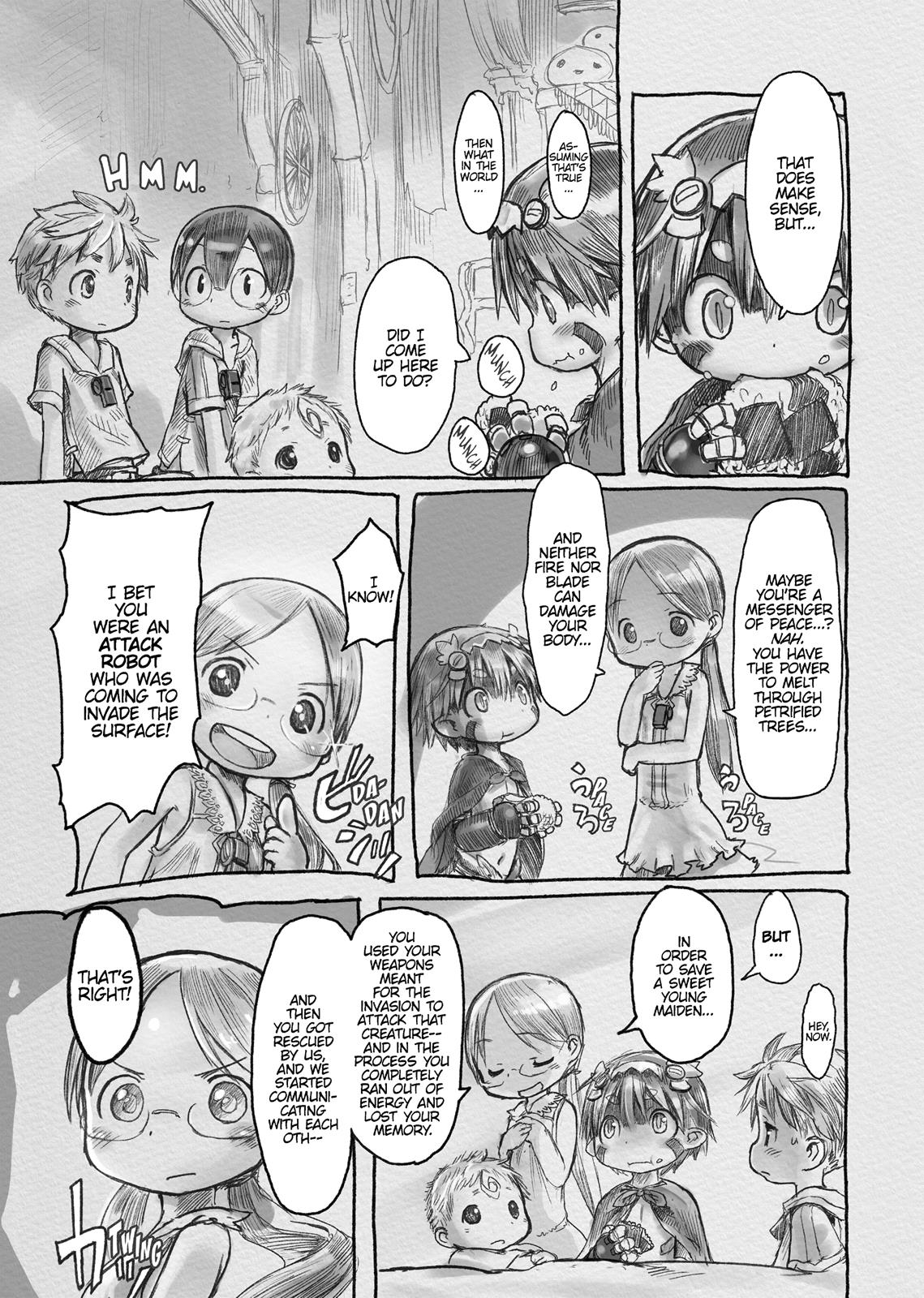 Made In Abyss, Chapter Hello,Abyss 4 image 005
