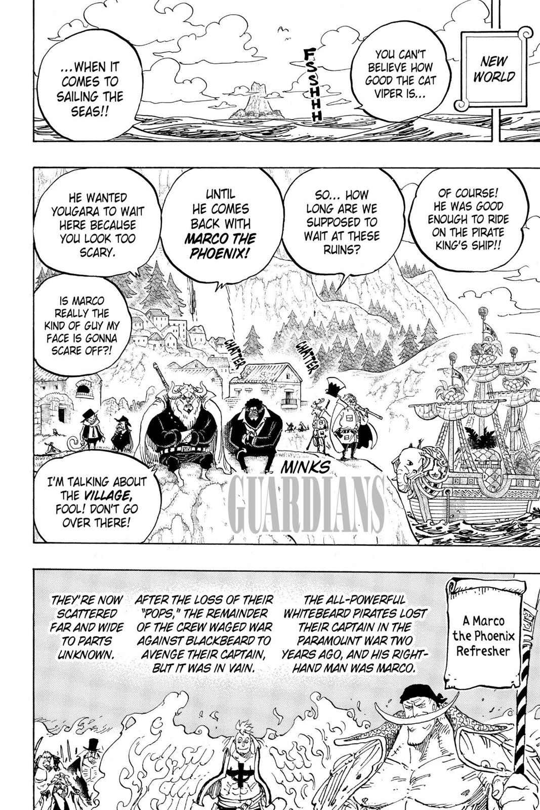 One Piece, Chapter 909 image 002