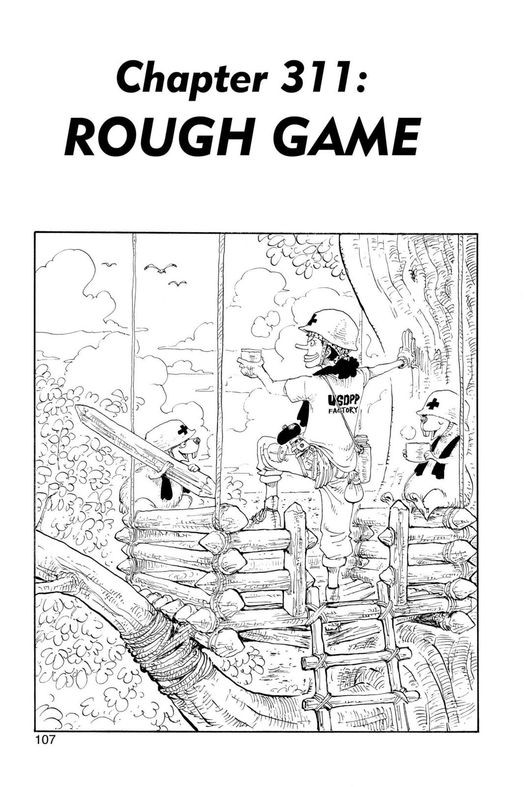 One Piece, Chapter 311 image 001