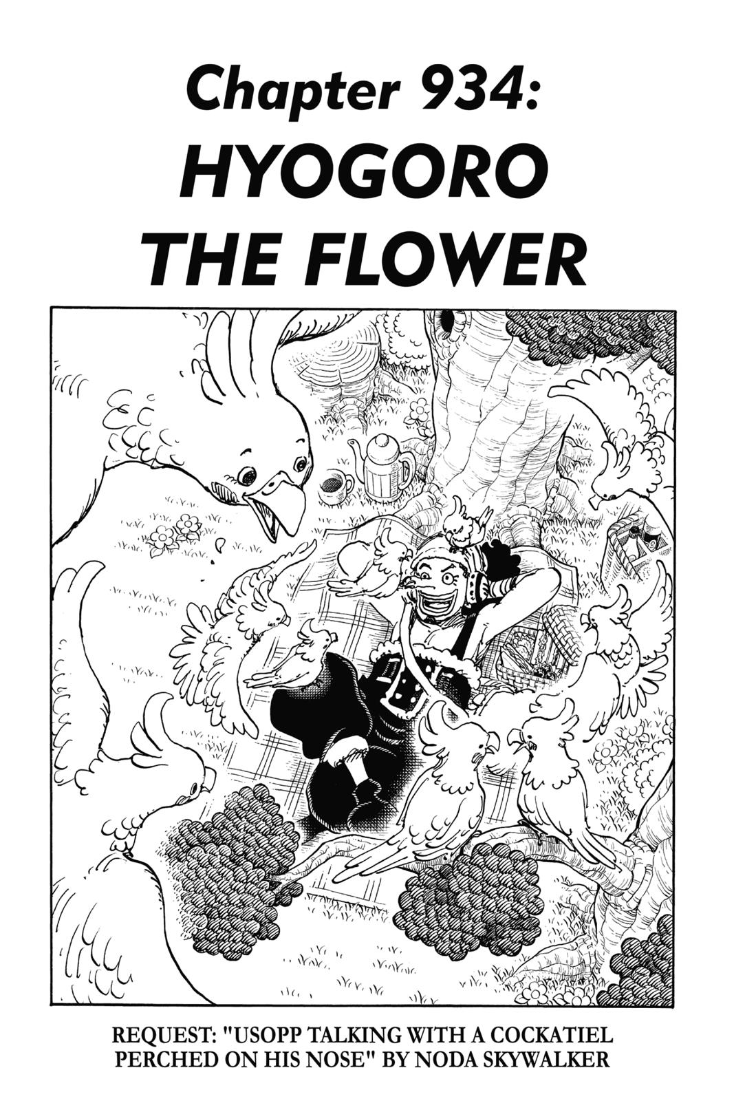 One Piece, Chapter 934 image 001
