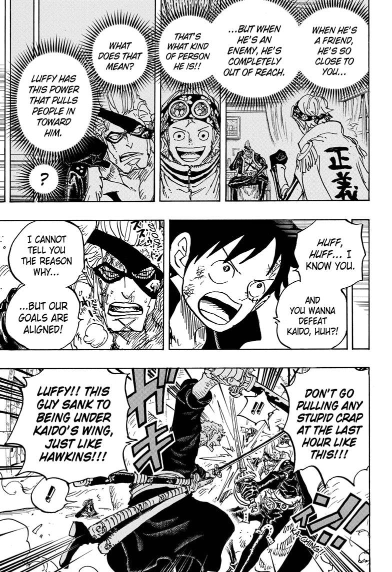 One Piece, Chapter 991 image 003