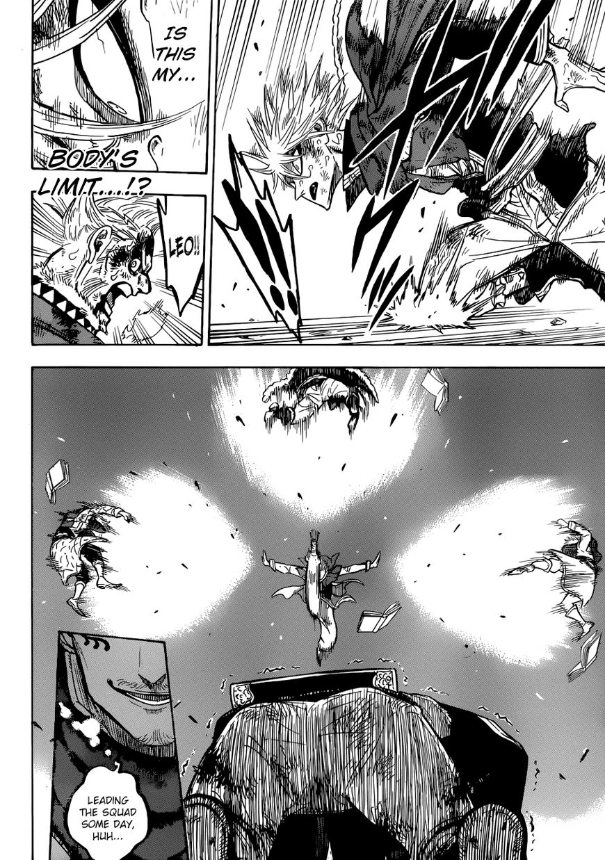 Black Clover, Chapter 171 The Sleeping Lion image 010