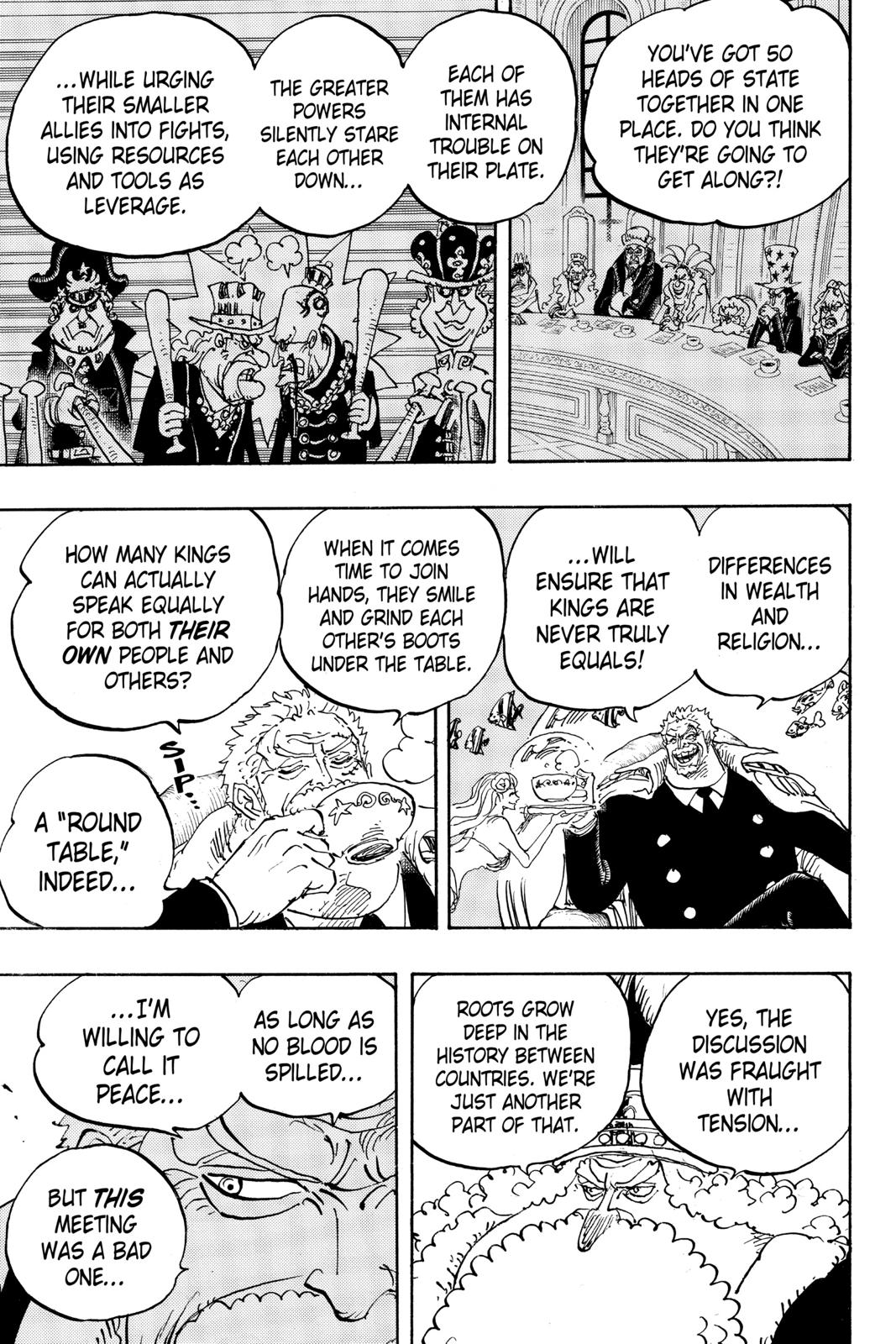 One Piece, Chapter 956 image 003