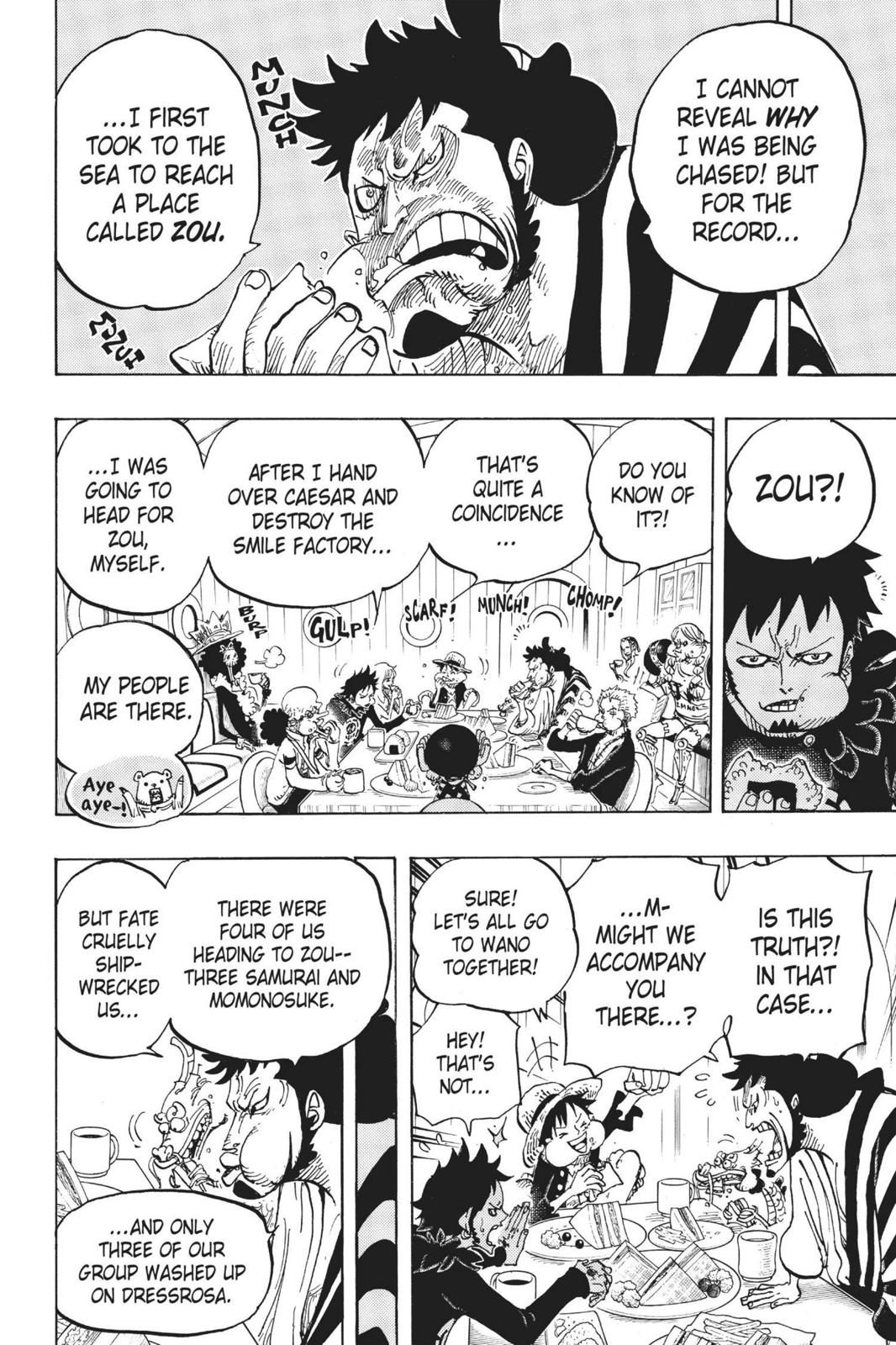 One Piece, Chapter 700 image 010