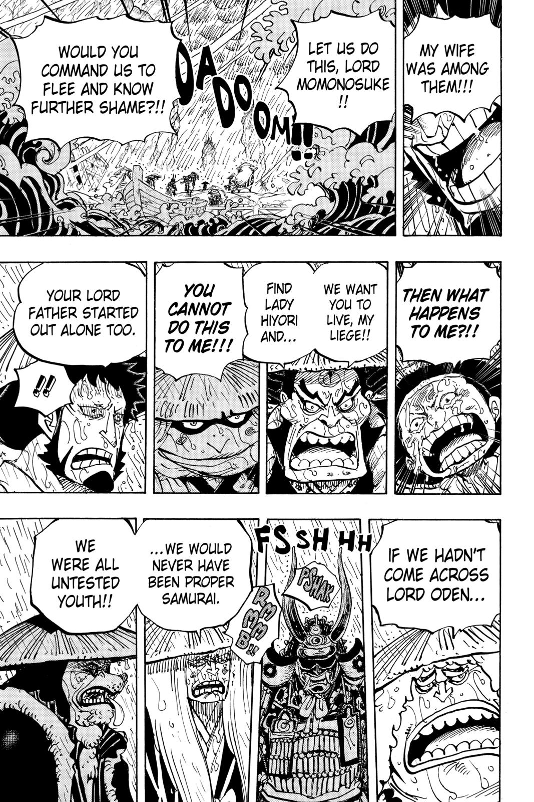 One Piece, Chapter 959 image 015