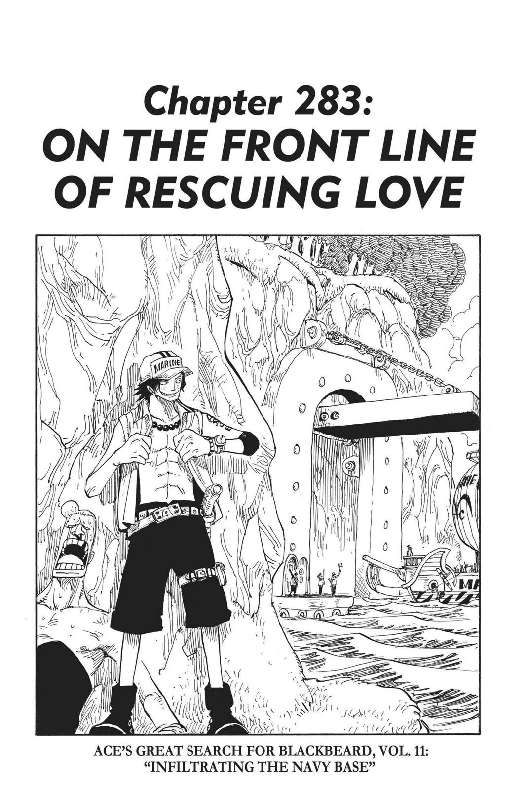One Piece, Chapter 283 image 001