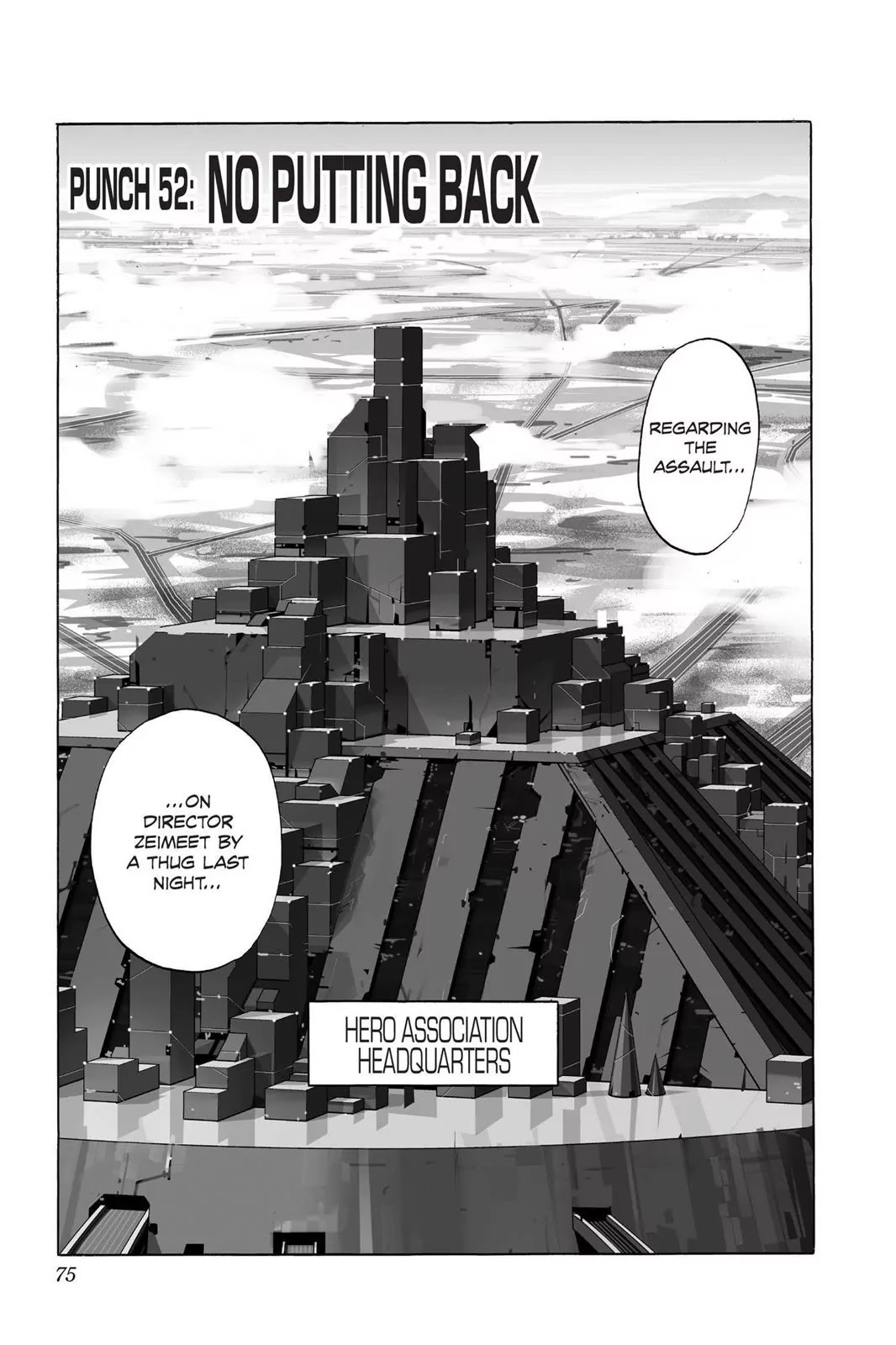 One Punch Man, Chapter Onepunch-Man 52 image 001