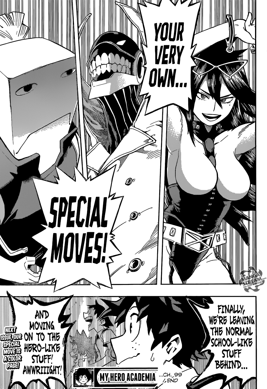 My Hero Academia, Chapter 99 image 020
