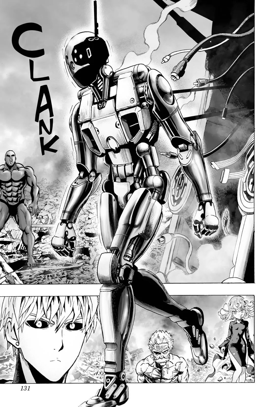 One Punch Man, Chapter Onepunch-Man 37 image 015
