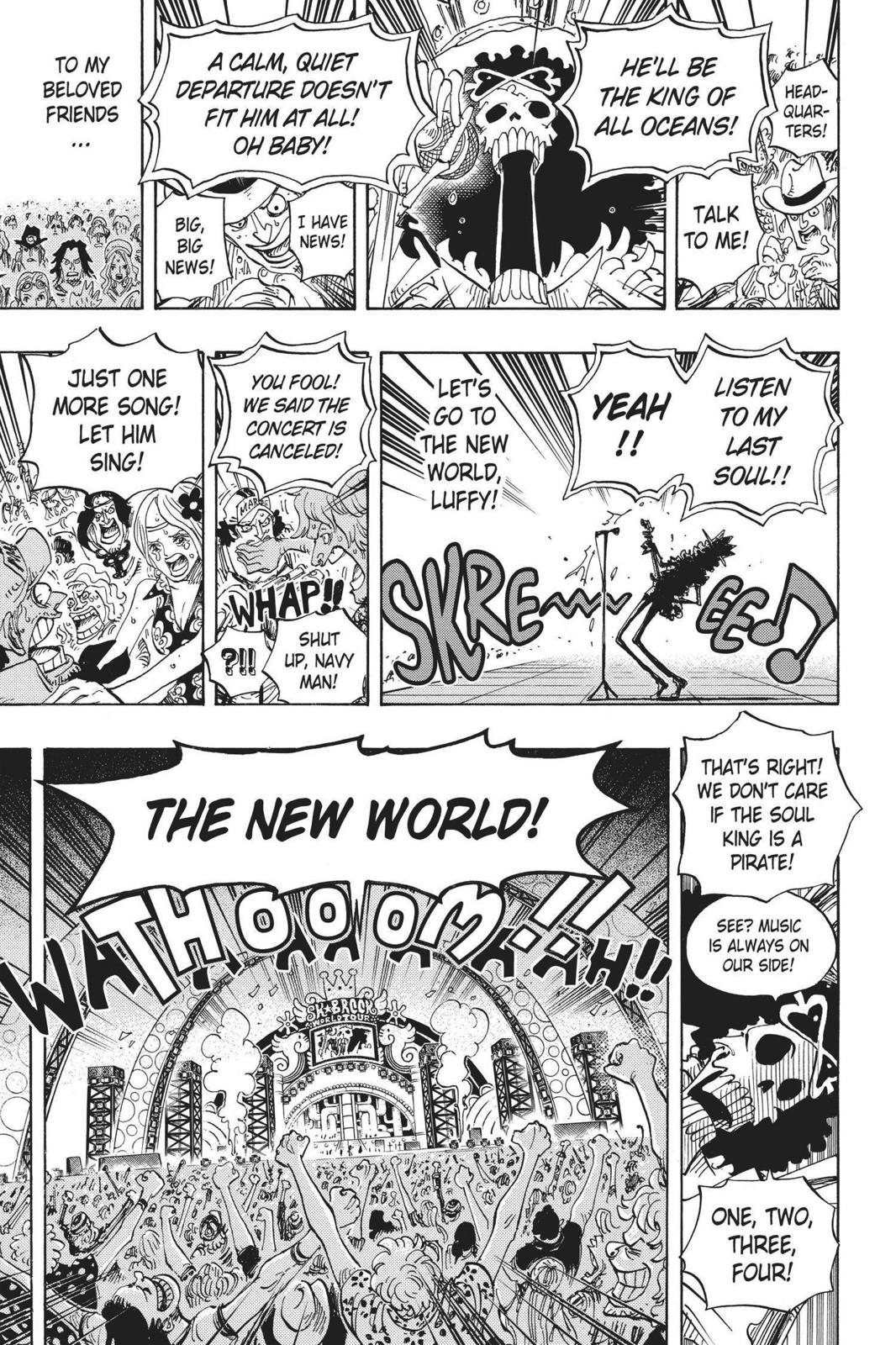 One Piece, Chapter 600 image 014