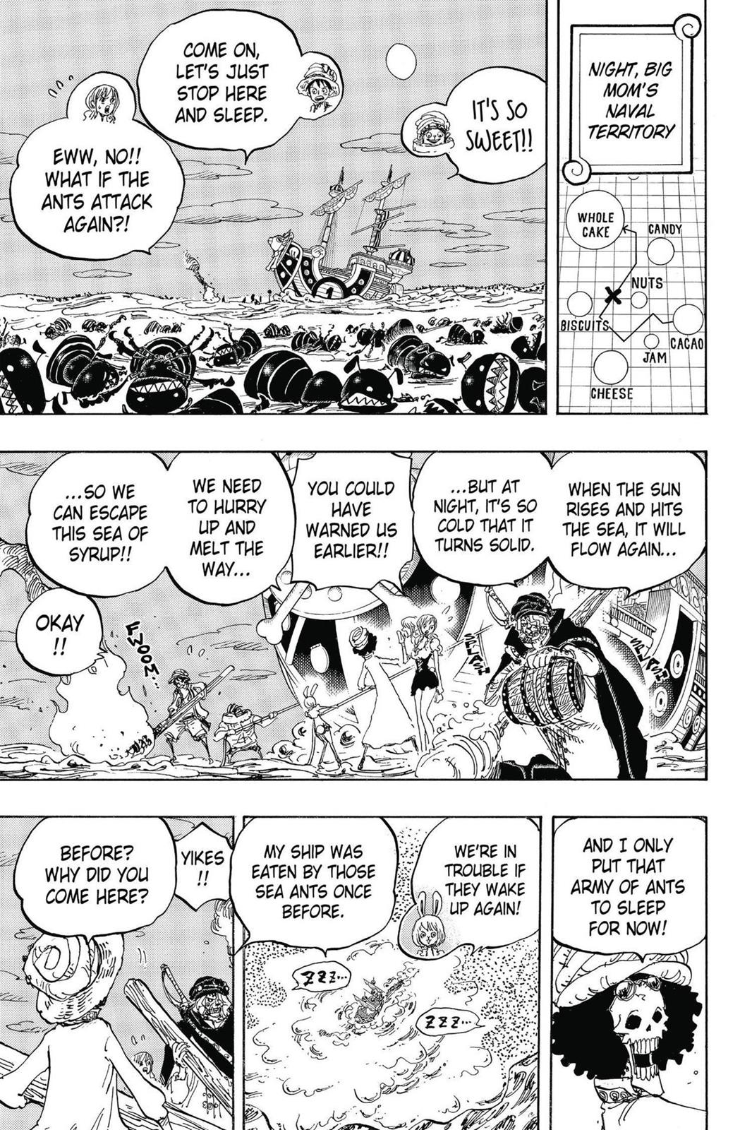 One Piece, Chapter 830 image 011