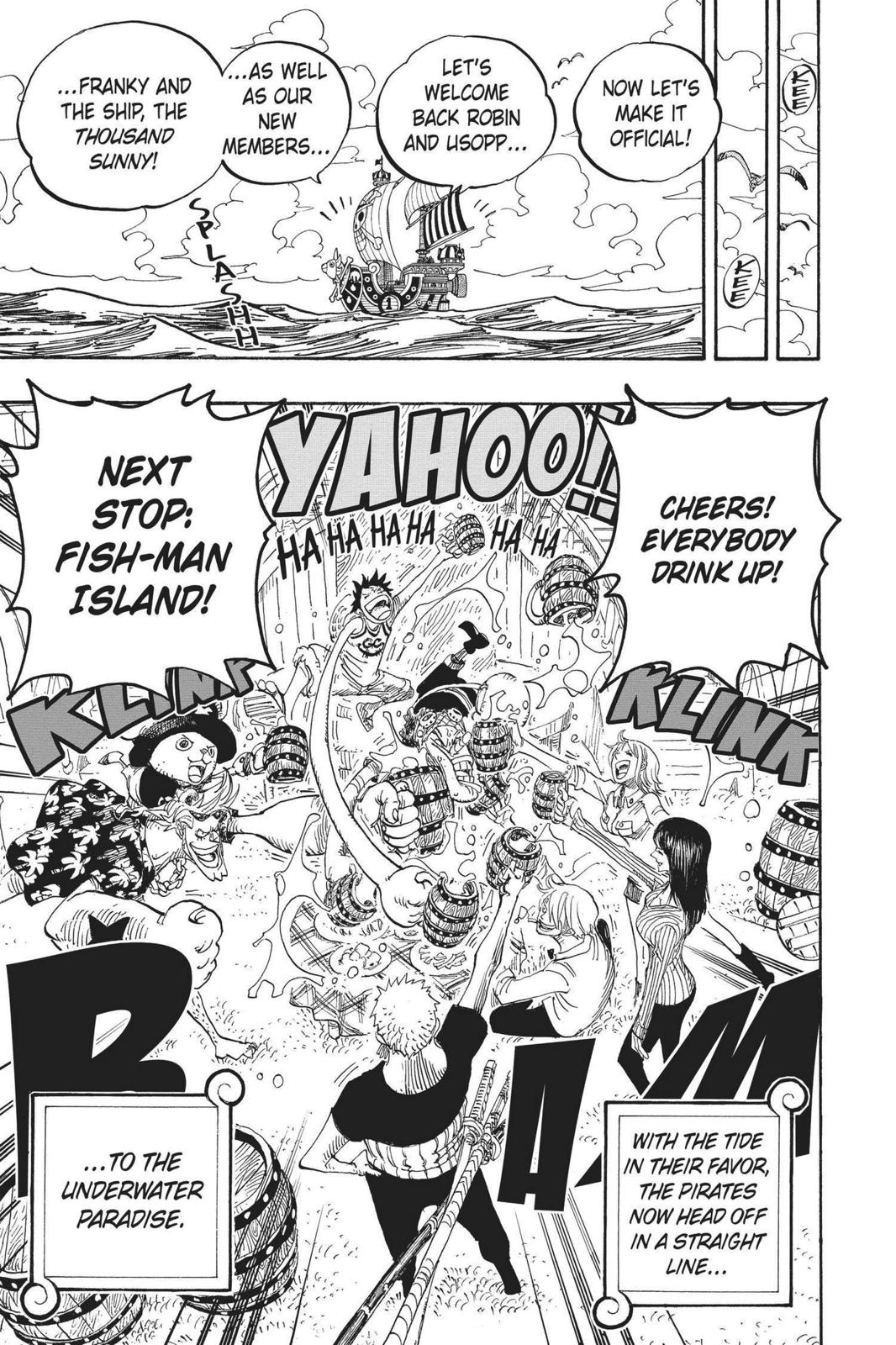 One Piece, Chapter 439 image 018