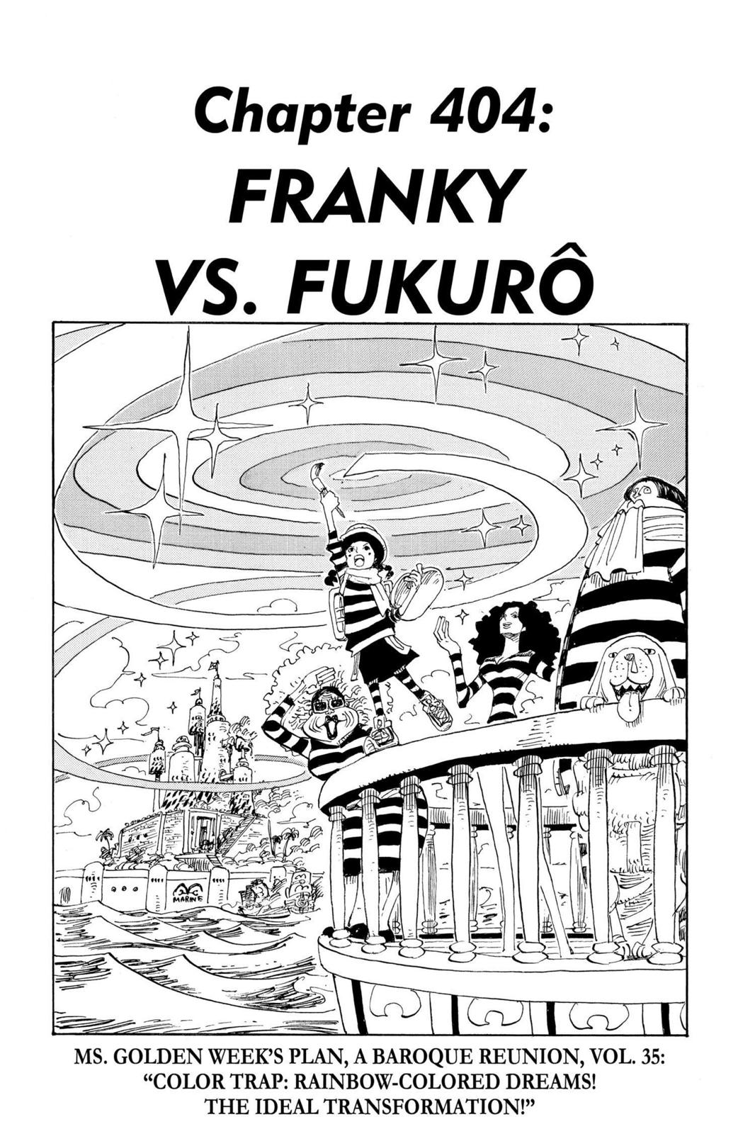 One Piece, Chapter 404 image 001