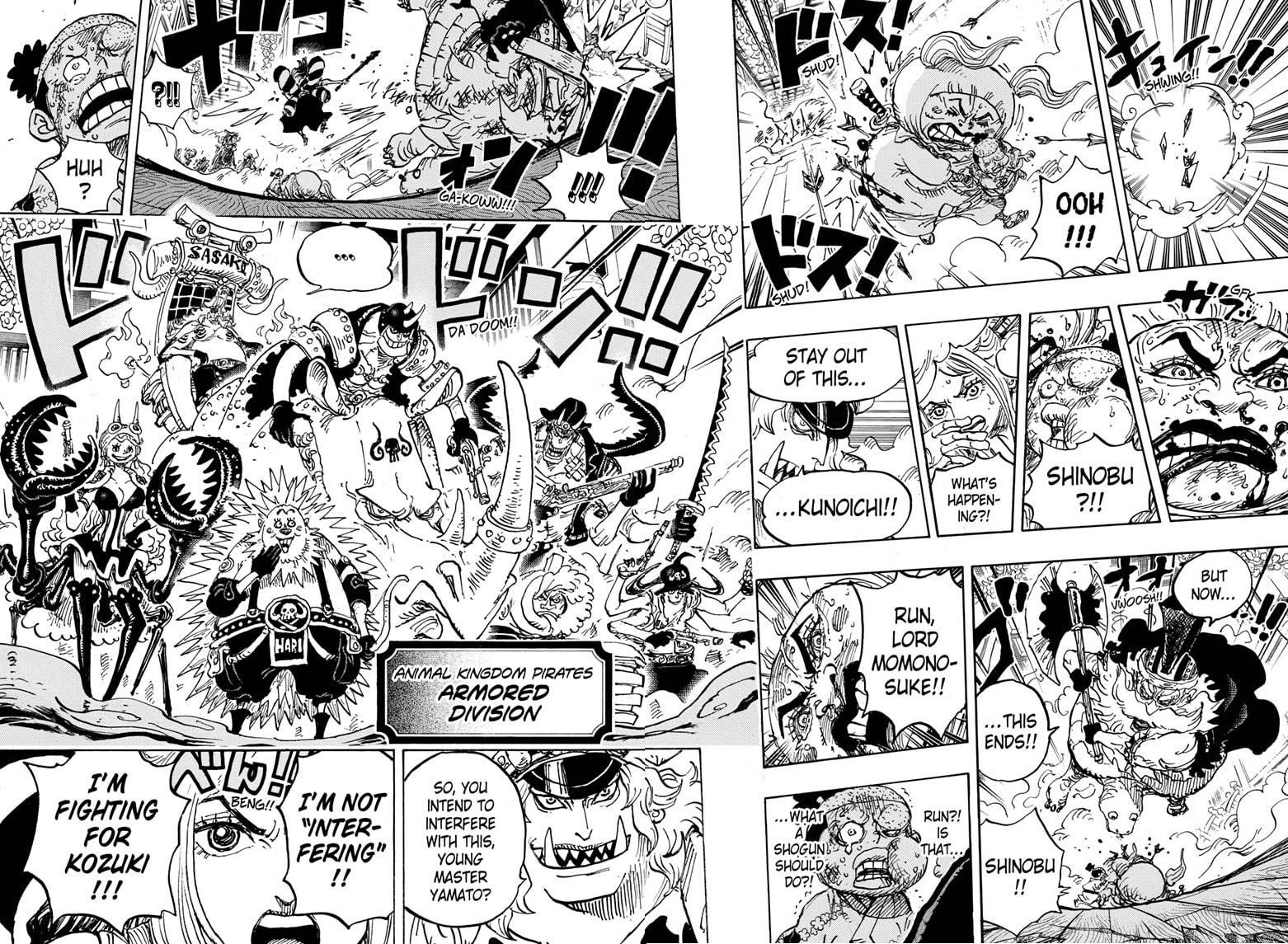 One Piece, Chapter 993 image 012