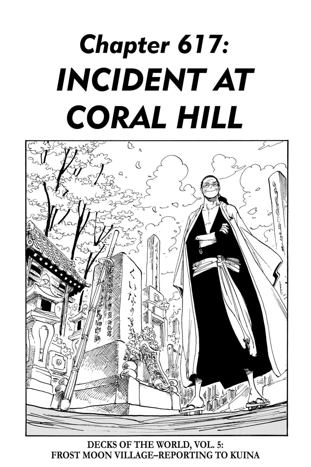 One Piece, Chapter 617 image 001