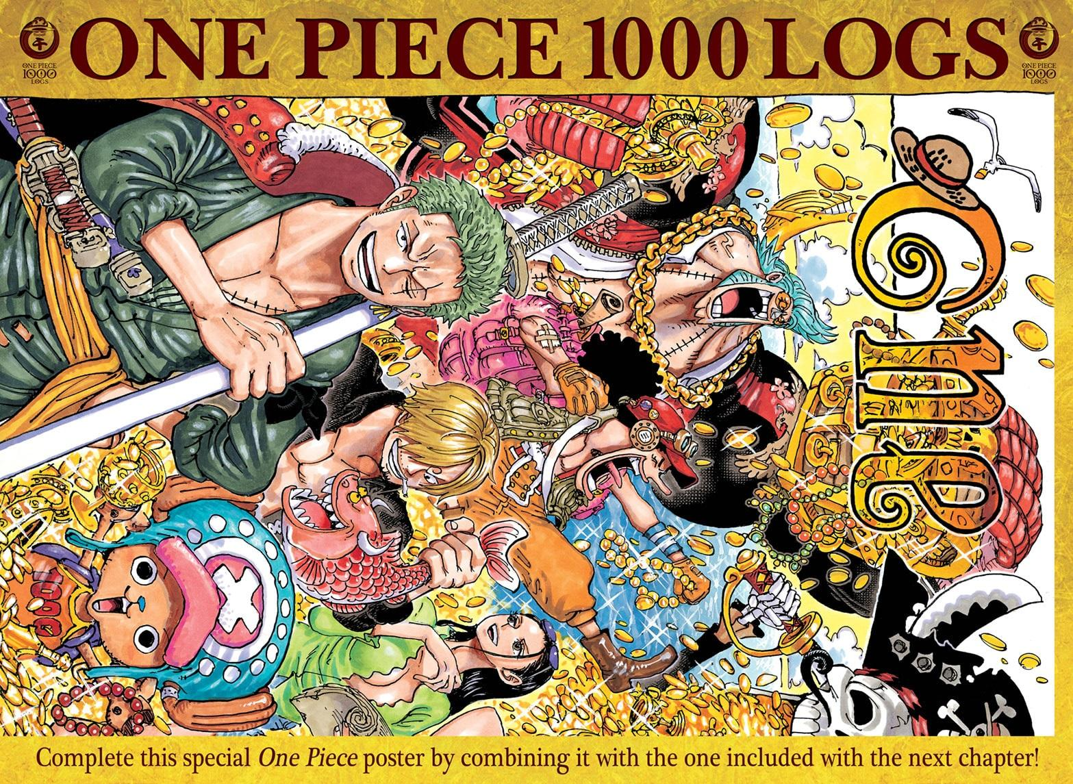One Piece, Chapter 999 image 001