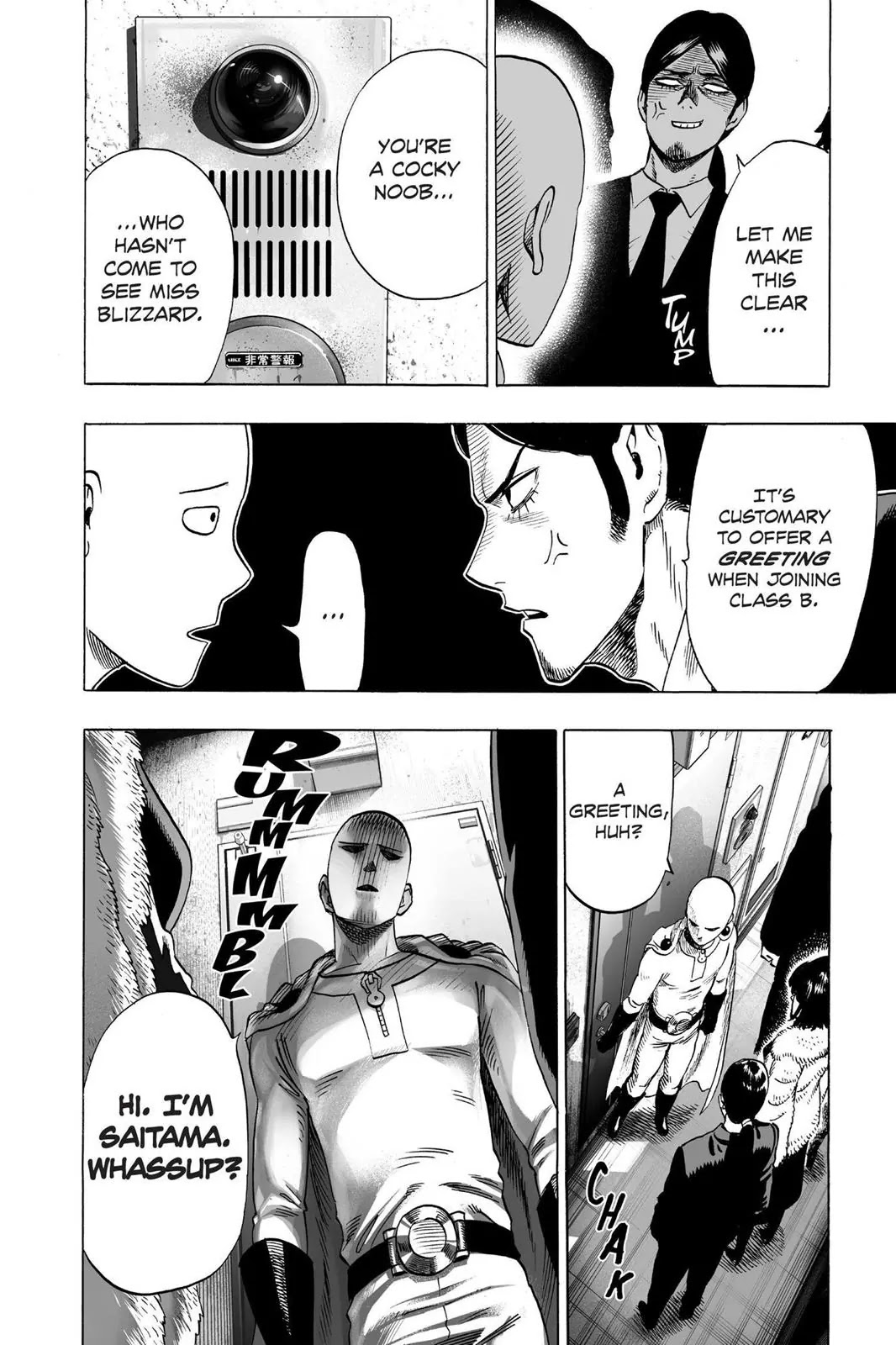 One Punch Man, Chapter Onepunch-Man 42 image 015
